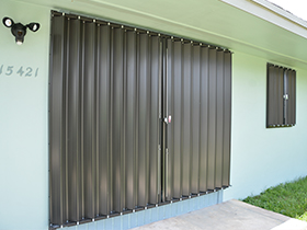 EZ lock shutters & Glass Accordion Shutters