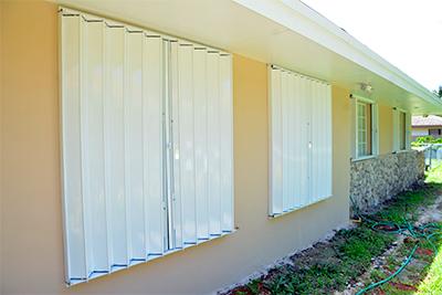 EZ lock shutters & Glass Accordion Shutters